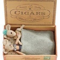 Maileg Mom & Dad Stuffed Toy Mice in a Box | Nordstrom