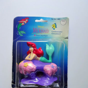 Vintage Disney's The Little Mermaid Ariel Underwater Ornament 1992
