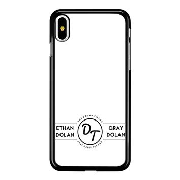 The Dolan Twins iPhone X Case
