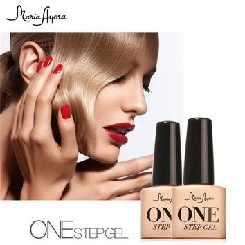 Maria Ayora 3 in1 One Step 7ml UV Gel Nails Polish Colors Vernis Nail Gel Lacquers Soak Off Gel No Need Base Top Coat