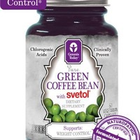 NEW!!! 100% Pure Green Coffee Bean Extract with SVETOL - 60 Vegetarian Capsules (1 Bottle)   deviazon.com