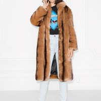 & Other Stories | Faux Fur Coat | Brown