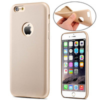 Ultra Slim Leather Case for iPhone with Logo Hole - Flexible