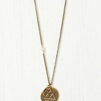 Free People Seasonal Moon Necklace