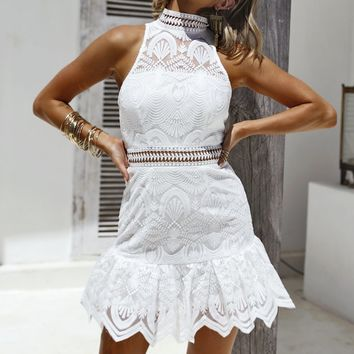 Eclipse of the Heart Dress (White)