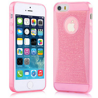 Shining Glitter TPU Case for iPhone 5 5G 5s cases Back Cover Shell Case