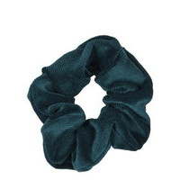 Baby Cord Scrunchie - Teal