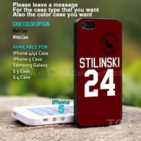 Teen Wolf STILINSKI lacrosse jersey - For iPhone 5 Black Case Cover