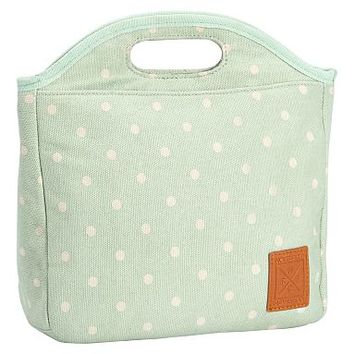 Northfield Mint Dot Tote Lunch