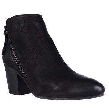 Steve Madden Jaydun Pointed Toe Ankle Boots, Black, 10 US