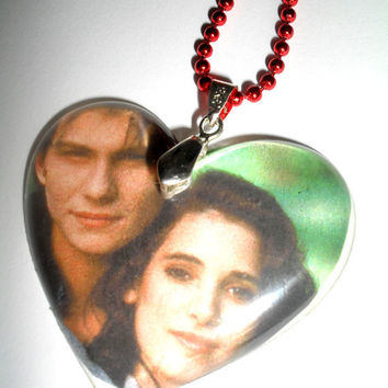 Heathers Necklace Christian Slater Winona Ryder Movie Preppy