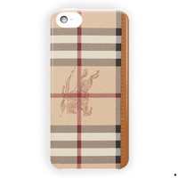 Burberry Wallet Design Custom For iPhone 5 / 5S / 5C Case
