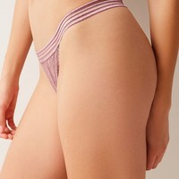 Out From Under Arianna Lace Thong | Urban Outfitters