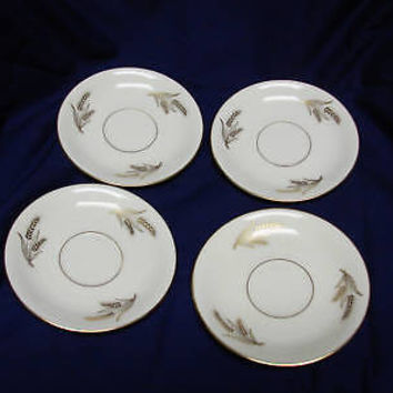 Lenox, Harvest China Dinnerware  #R441 set 4 Saucer(s)