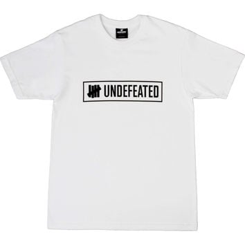 Undefeated Outline Tee - White
