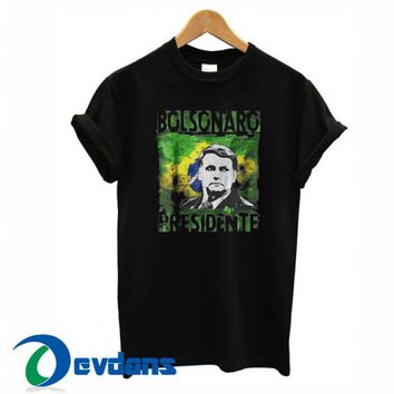 Bolsonaro Presidente T Shirt Women And Men Size S To 3XL