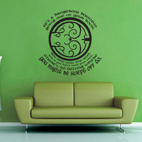 It's a Dangerous Business Going Out of Your Door - Tolkien - Wall Decal