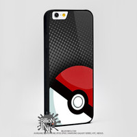 Pokeball Pokemon Video Game Ball For Apple, Iphone, Ipod, Samsung Galaxy Case