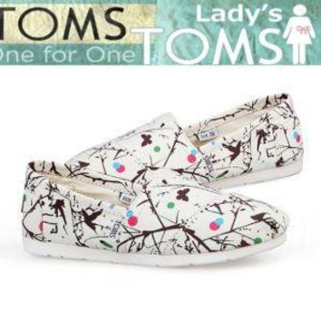 TOMS UNISEX FLAT SHOES FASHION LEISURE LOAFERS-5