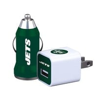 New York Jets Home/Away 2-pk. Car Charger NFL-2PK-NYJ (Jet Team)