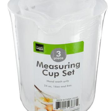Plastic Measuring Cup Set ( Case of 36 )