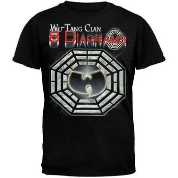 LMFONU3 Wu-Tang Clan - 8 Diagrams Foil T-Shirt
