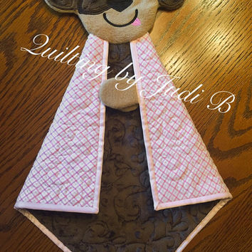 Maddy's Lovie - Puppy - Security Blanket - Choice of Colors!
