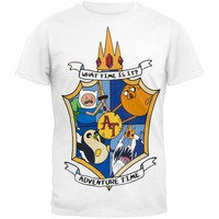 Adventure Time - Shield T-Shirt