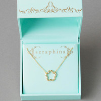 Seraphina Open Flower Necklace