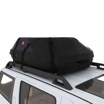 20 Cubic Feet Waterproof Car Top Carrier Roof Cargo Bag Box Trunk Easy Install
