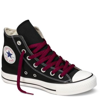 "Maroon Hi-Top 54"" Shoe Laces : Converse Shoelaces 