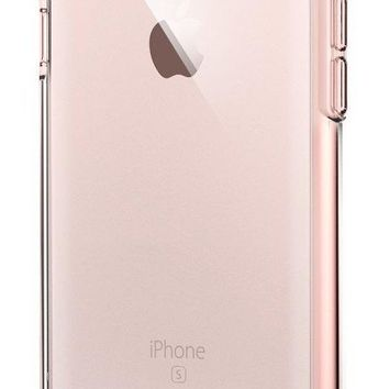 Spigen Ultra Hybrid iPhone 6S Case with Air Cushion Technology and Hybrid Drop Protection for iPhone 6S / iPhone 6 - Rose Crystal