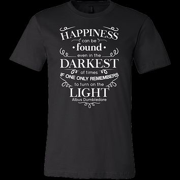 Family - Happiness Can Be Found Even In The Darknest Of Time - Men Short Sleeve T Shirt - TL00774SS