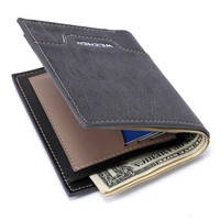 Leather Men Korean Innovative Wallet [8830604739]