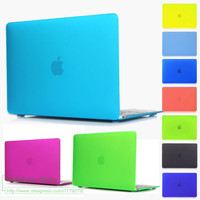 "Christmas Gifts New colour Matte Rubberized Case For Apple Macbook Pro 13 15  Pro With Retina For Mac Air 11"" 13"" 12'' bag cover"