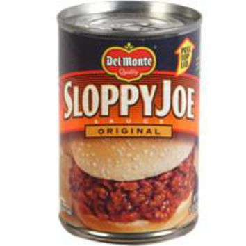 Del Monte Original Sloppy Joe Sauce 15 oz