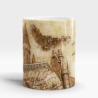 Hogwarts Harry Potter Mug, Hogwarts will always be there to welcome you home, Harry Potter Quote Mug, Hogwarts Castle coffee cup, Hogwarts