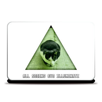 All Seeing Eye Illuminati Laptop Skins | Artist : Nitin Kapoor