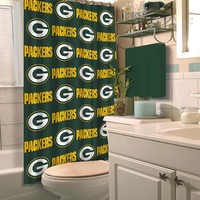 Green Bay Packers NFL Shower Curtain