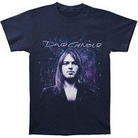 Pink Floyd Men's  Young David Slim Fit T-shirt Navy Rockabilia