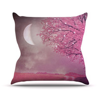 "Monika Strigel ""Song of the Springbird"" Throw Pillow"