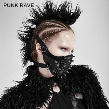 Punk Rave Brand New Gothic Steampunk Steam Rock Women stylish fahison Pin MASK S182
