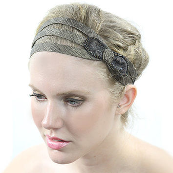 fabric headband, bow headband, headbands, head wraps