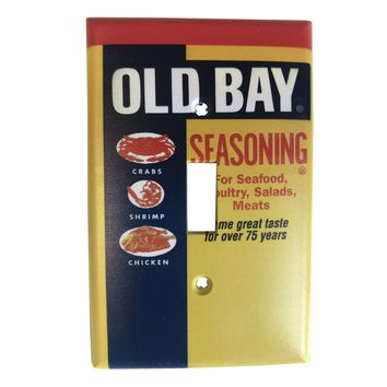 Old Bay Can / Light Switch Cover