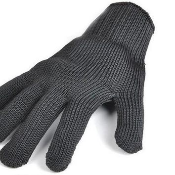 Defence Cut Resistant 5 Level Steel Wire Major Security Self Enhanced Authority Testing Welding Working Gloves