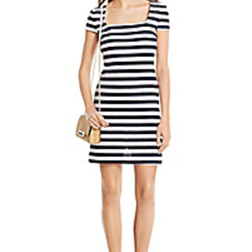 DVF Suji Knit Shift Dress