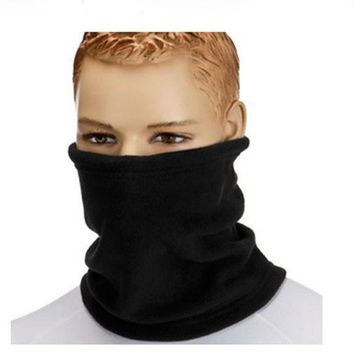 Winter Windproof Face Beanies Warm Fleece Beanies Hats For Men Skull Bandana Snood Scarf Neck Warmer Balaclava Ski Face Mask Q4