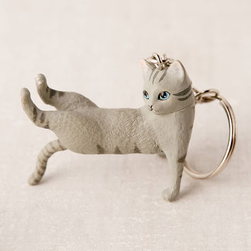 Meowditation Keychain | Urban Outfitters