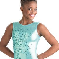 Aqua Tribe Gymnastics Leotard from GK Elite