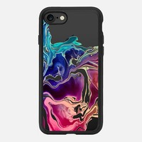 GO CHIC - COLORWAVES by Monika Strigel iPhone 7 Hülle by Monika Strigel | Casetify